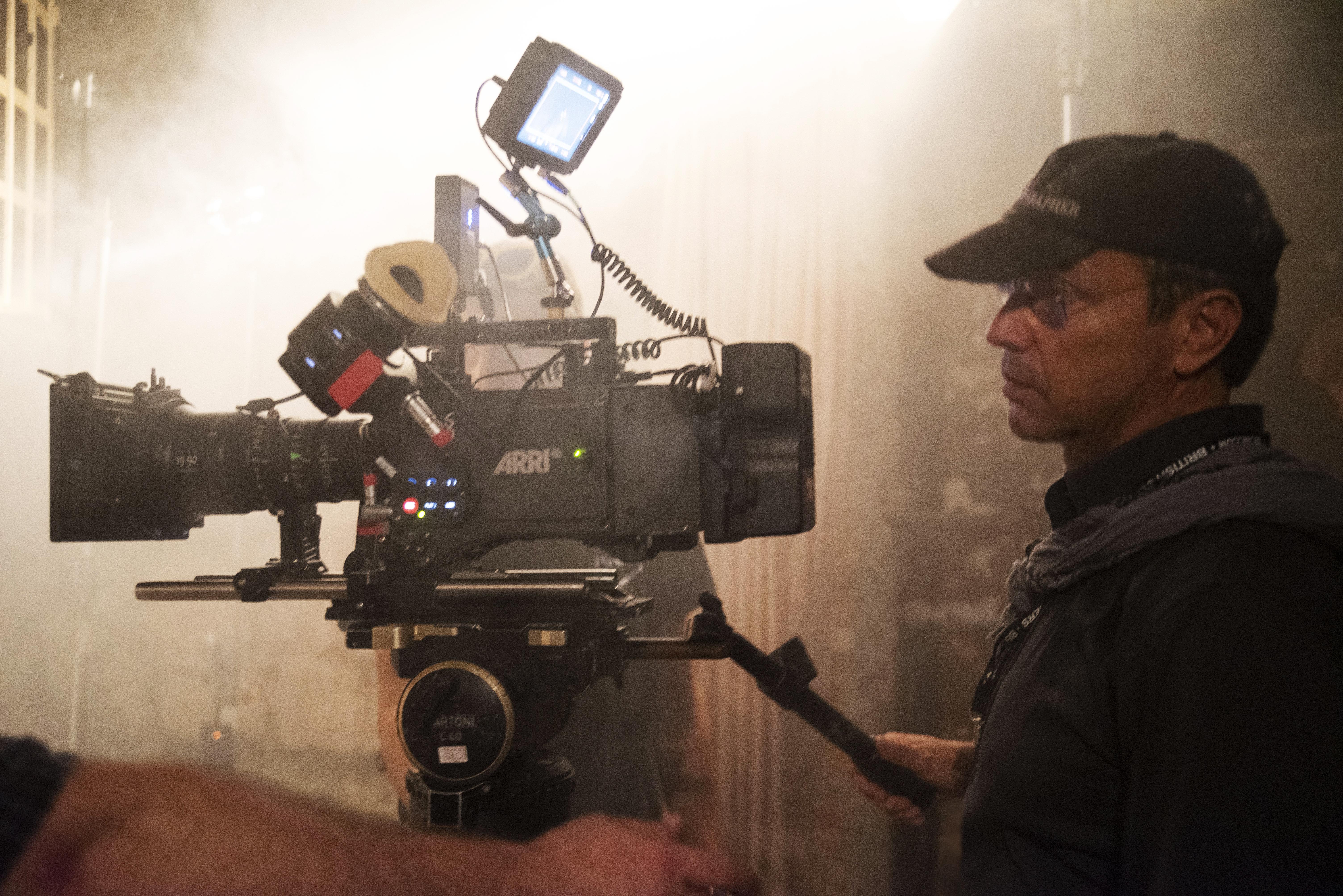 FP filming LA MUSICA NELL'ANIMA