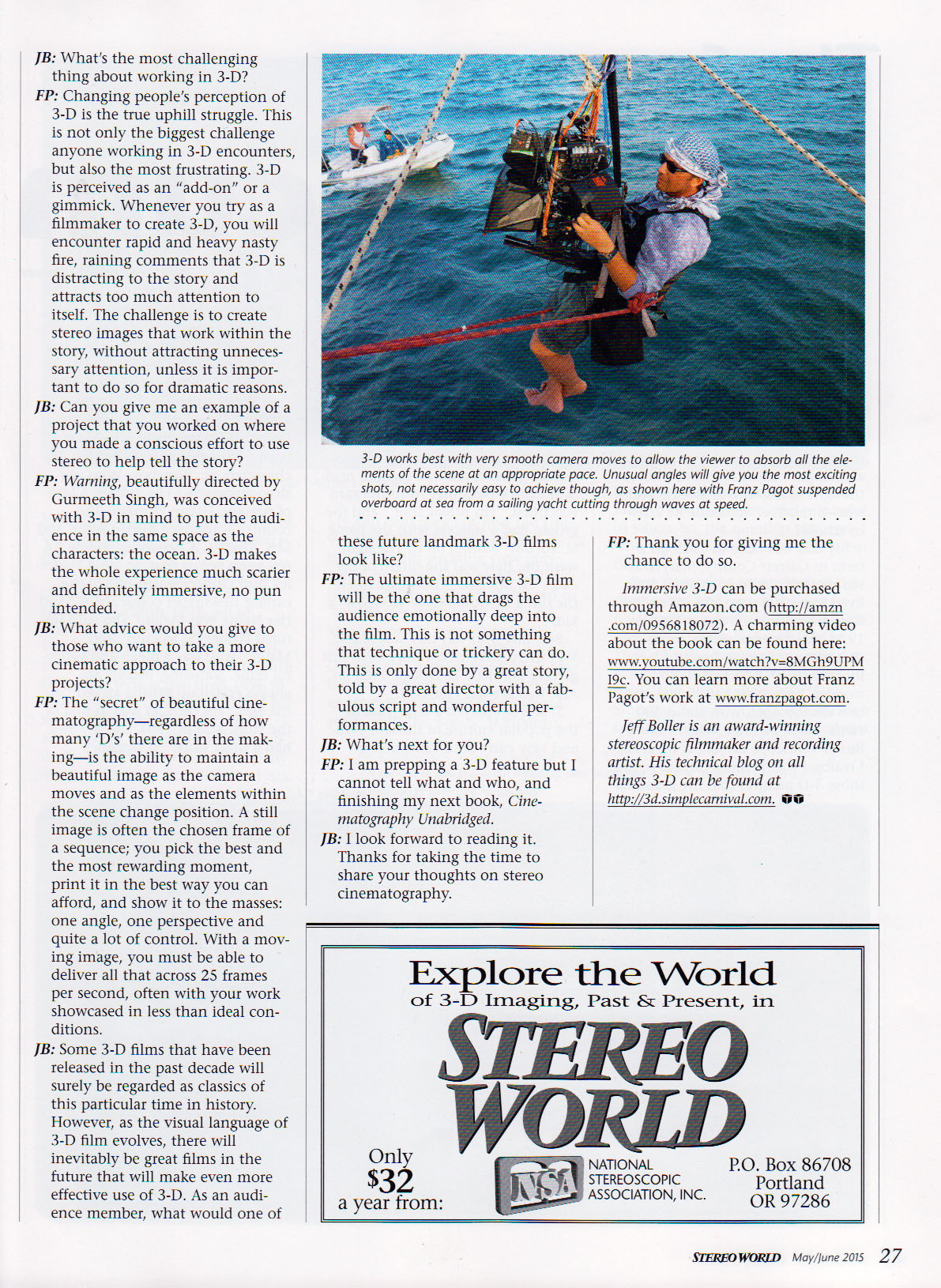 Stereo World magazine 2