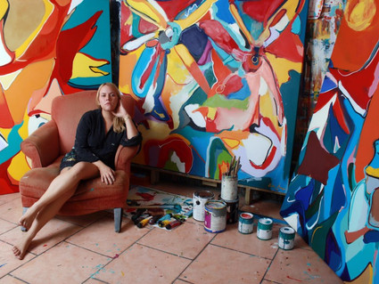 Carla Negron on Being Born to Create and Her Fascinating Process