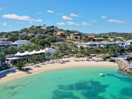 This Celeb-Favorite Resort in the Caribbean Has a 22-Foot Spaceman Sculpture