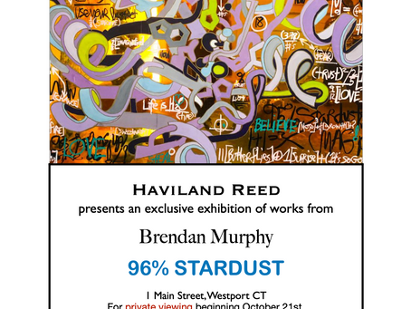 Exclusive Solo Show at Haviland Reed