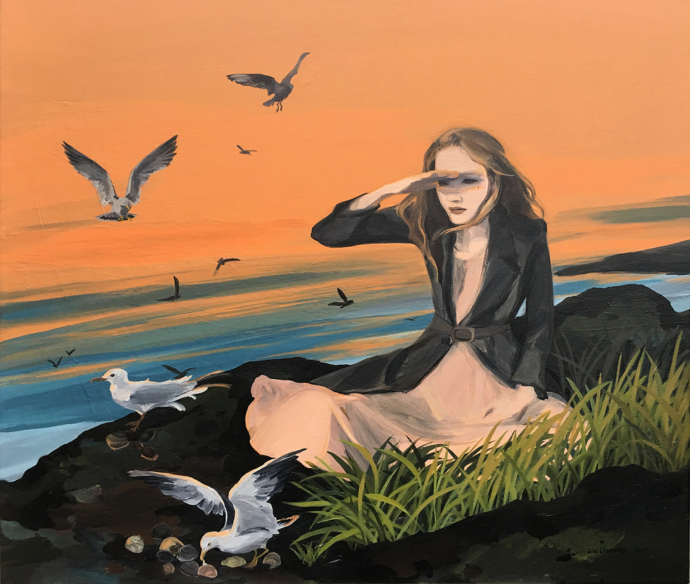 Brave New World, Acrylic on Canvas, 2017