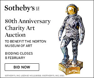 "84"" Boonji Spaceman in Sotheby's Auction"