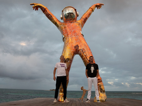 Antigua's Hodges Bay Goes Viral With Its New Boonji Spaceman