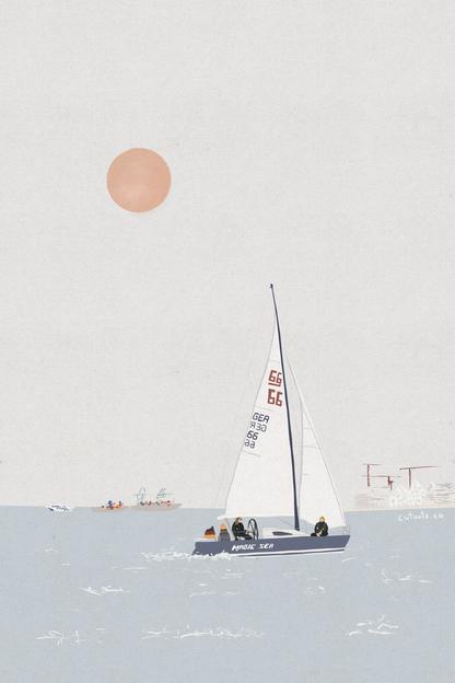 Sailing in Aarhus