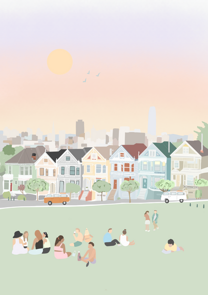 commission for painted ladies touring company