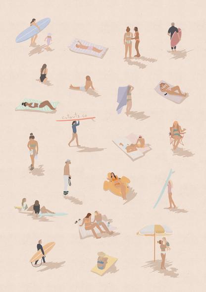 Mini Sunkissed Beach Lovers