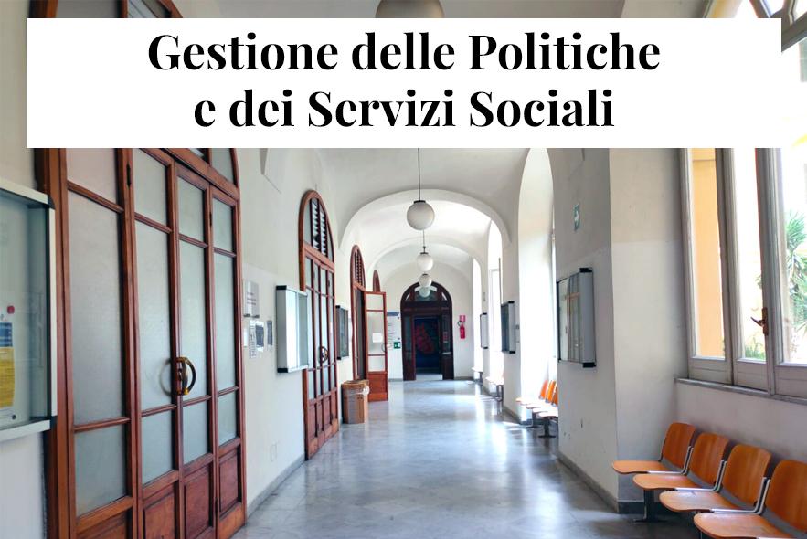 Gestione delle Politiche e dei Servizi S