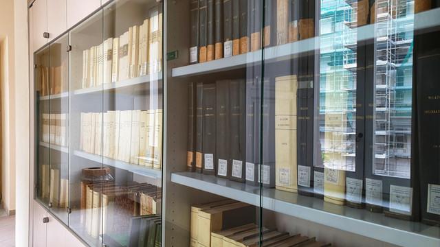 La biblioteca di Scienze Politiche