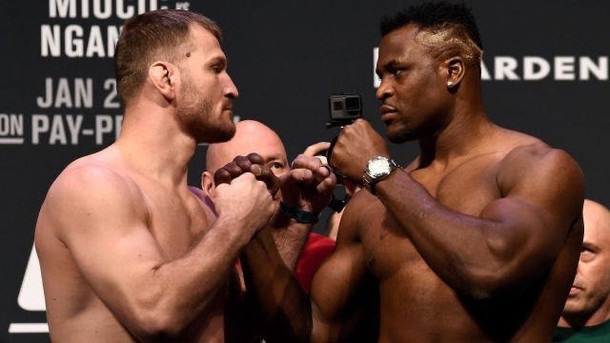 Stipe Miocic vs. Francis Ngannou II to Headline UFC 260