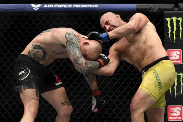 PIERCE: Veteran talent shines in second UFC event in 4 days