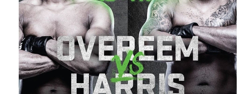 Overeem vs Harris & Gadelha vs Hill