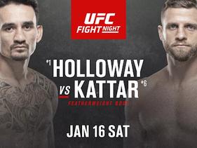 2021 UFC slate kicks off with Holloway vs. Kattar on Fight Island