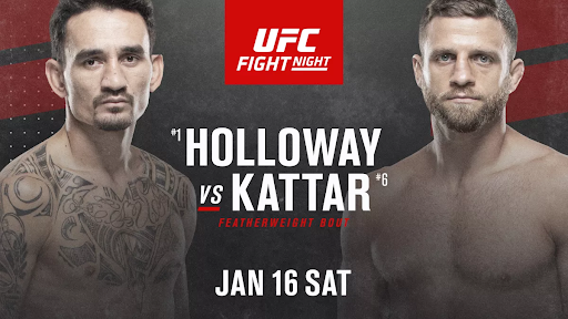 2021 UFC slate kicks off with Holloway vs. Kattar on Fight Island