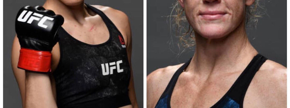 UFC Fight Night Apex Holly Holm and Irene Aldana August 1st on ESPN +
