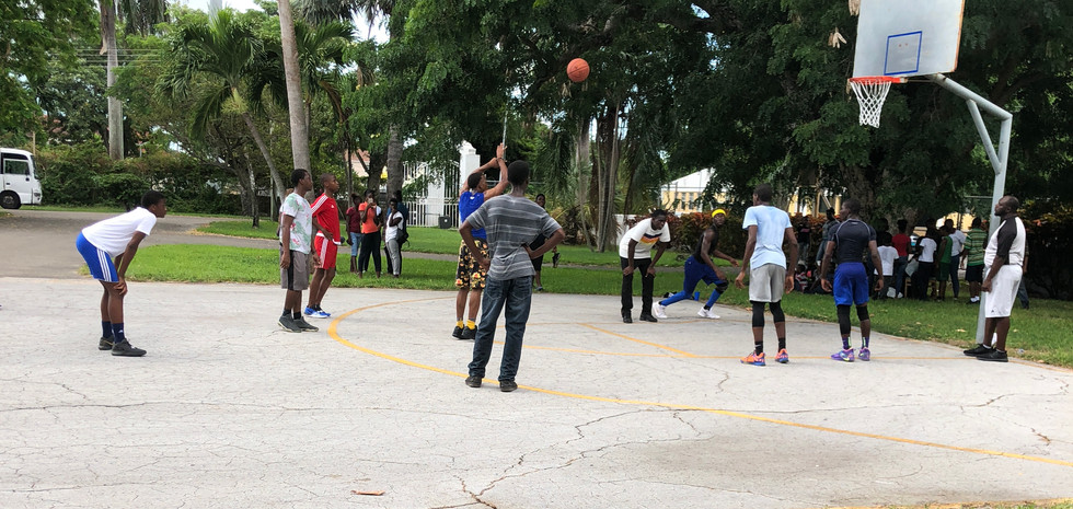 Kiwsnis Club of Nassau hosted a basketball Tournament between the children of Great Commision Ministry and the Ranfurly home. Ranfurly Home was victorious with a score of 46 to 28.