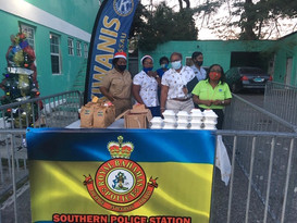 Christmas Partnership with Quakoo St Police Station Gift donation to Children in the community