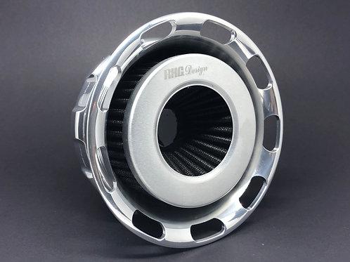 Filtro de ar modelo Super INTAKE Duplo Fluxo para Sportster e motor 103.