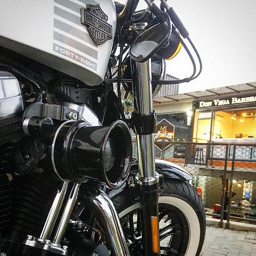 Filtro de ar modelo INTAKE BLACK para toda linha Harley Davidson