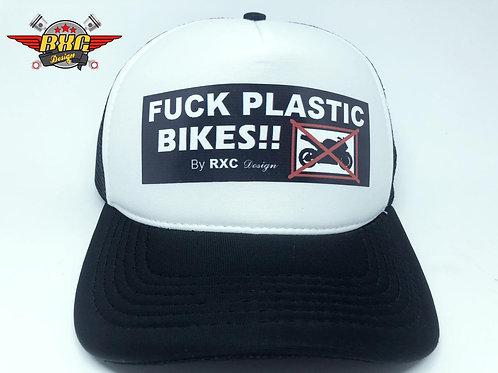 Boné Fuck Plastic Bikes! By RXC Design