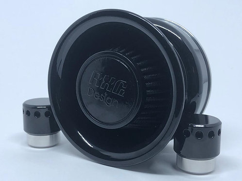 Filtro de ar modelo Short INTAKE BLACK para toda linha Harley Davidson