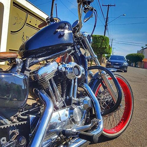 Filtro de ar modelo Retrô para toda linha Harley Davidson