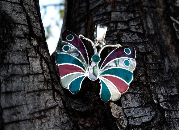Colgante Mariposa Multicolor