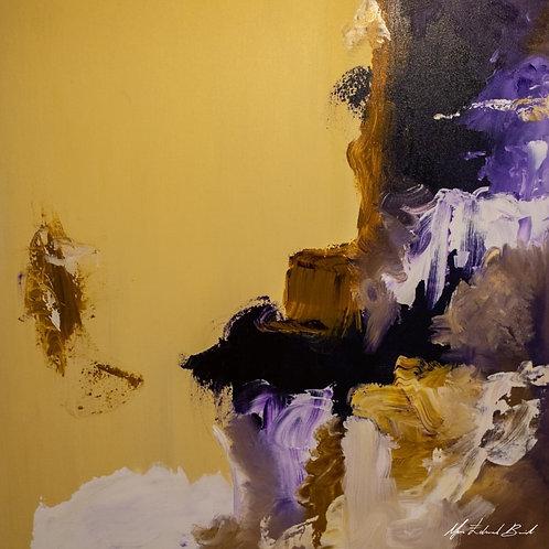 Empresta-me esse teu olhar - 100 x 100 cm - por Maria Eduarda Boabaid