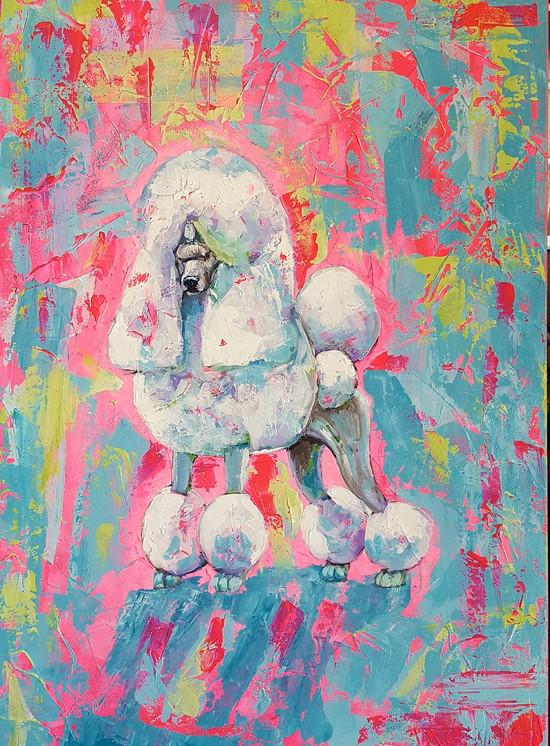 Juliana Lavoura-Poodle Pop- 70cmx 50cm-