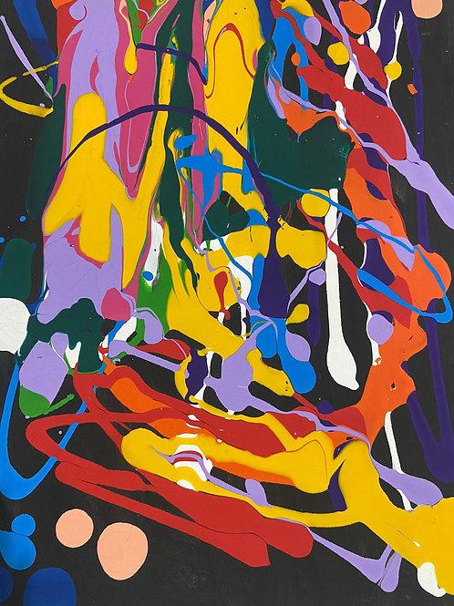 Ansiedade - 60 x 40 cm - por Lorenzo