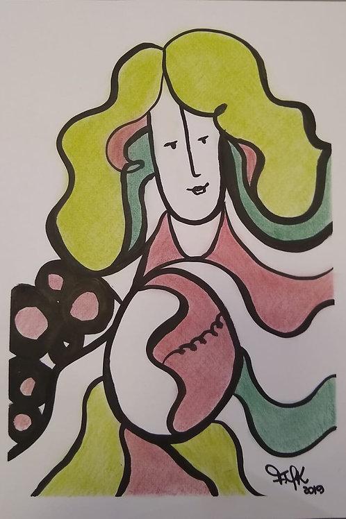 Concepção - 29.7 x 21 cm - por Fernanda Mascarenhas Kuhn