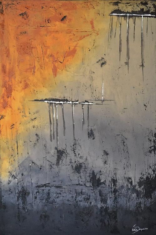Um inverno seco - 100 x 70 cm - por Hilda Siqueira