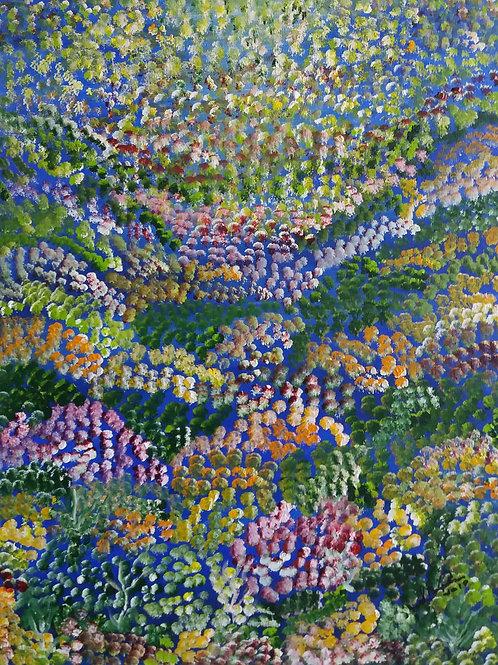 Paradise - 40 x 50 cm - por Sueli de Souza Baptisaco