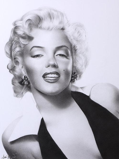 Marilyn Monroe - 29,7 x 42cm - por JoséAugusto