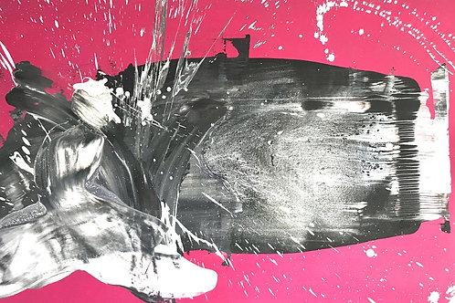 Êxtase - 120 x 80 cm - por Dado Cavalcanti