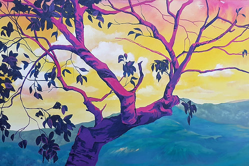Alegria - 50 x 100 cm - por Diana Chagas