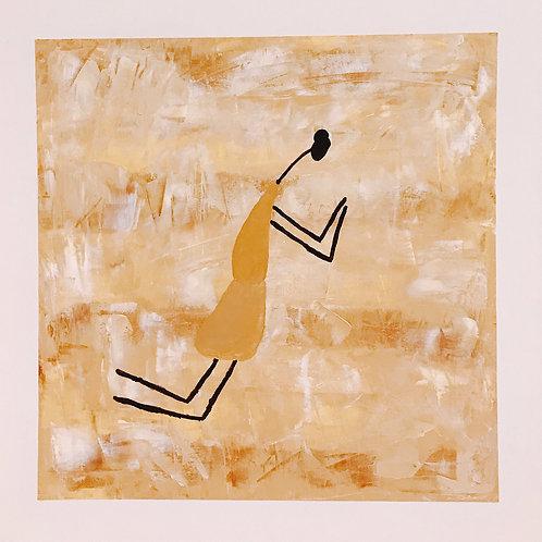 A Rezadeira - 50 x 50 cm - por Gleison Castro