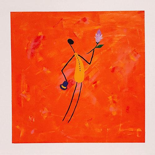 O Romântico - 50 x 50 cm - por Gleison Castro