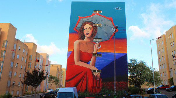 Nomen-the girl with the red dress, 2015,