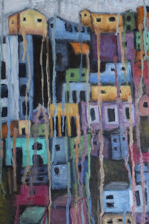 A Comunidade - 49,5 x 30 cm - por Monica Mendes