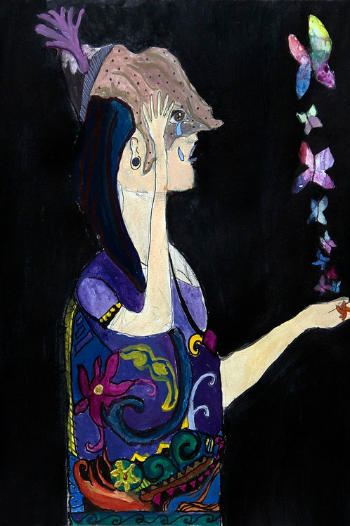 Madame Butterfly - 70 x 50 cm - por Victor Muszkat