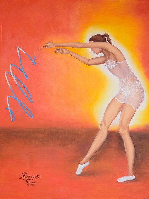 Vivi l'arte! - 70 x 90 cm - por Rosangela Tirre