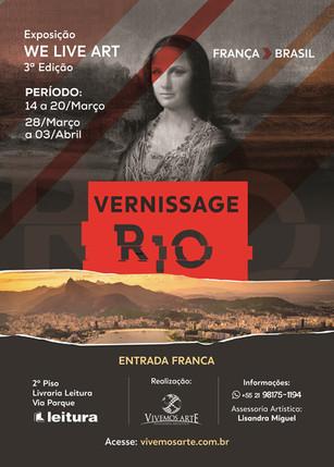 Vivemos Arte - Vernissage 14 março 2020