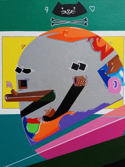 Minhau o Protetor - 25 x 35 cm - por Gabriel Hune