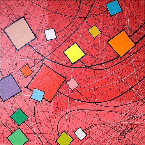 Retalhos 03 - 40 x 40 cm - por França