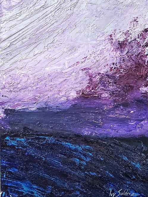 Horizonte Púrpura - A6 - por Ivy Soldera
