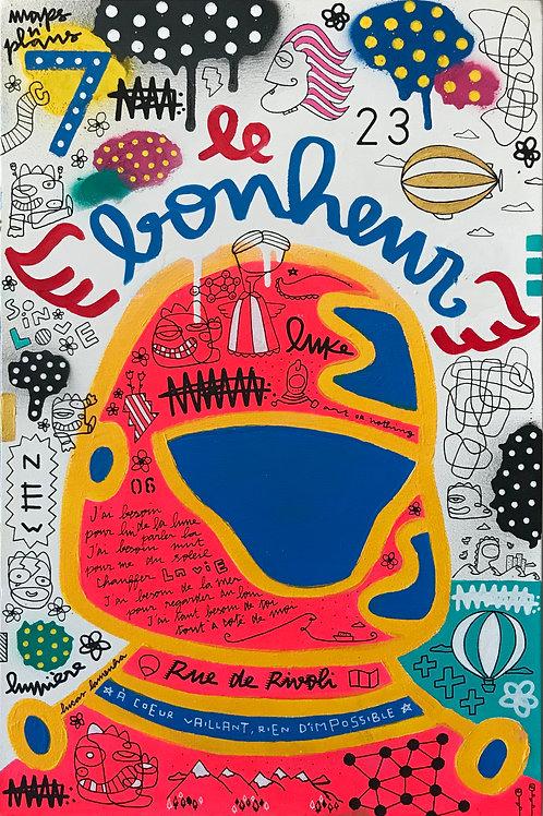 """Le Bonheur"" - 60 x 40 cm - por Lucas Lamenha"