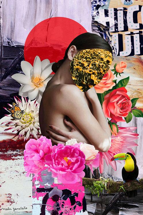 Primavera Aqui - 42 x 29 cm - por Malu Zanelato