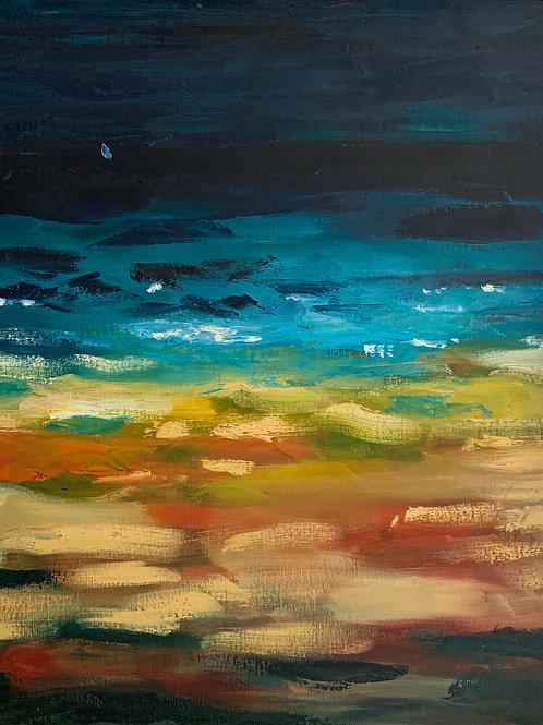 Beira Mar - 50 x60 cm - por Tito Flávio