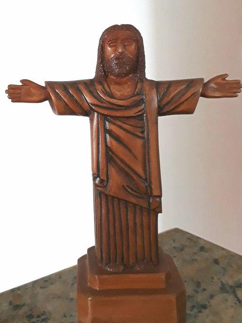 Cristo Redentor - 28 x 22 cm - por Lazaro Miguel